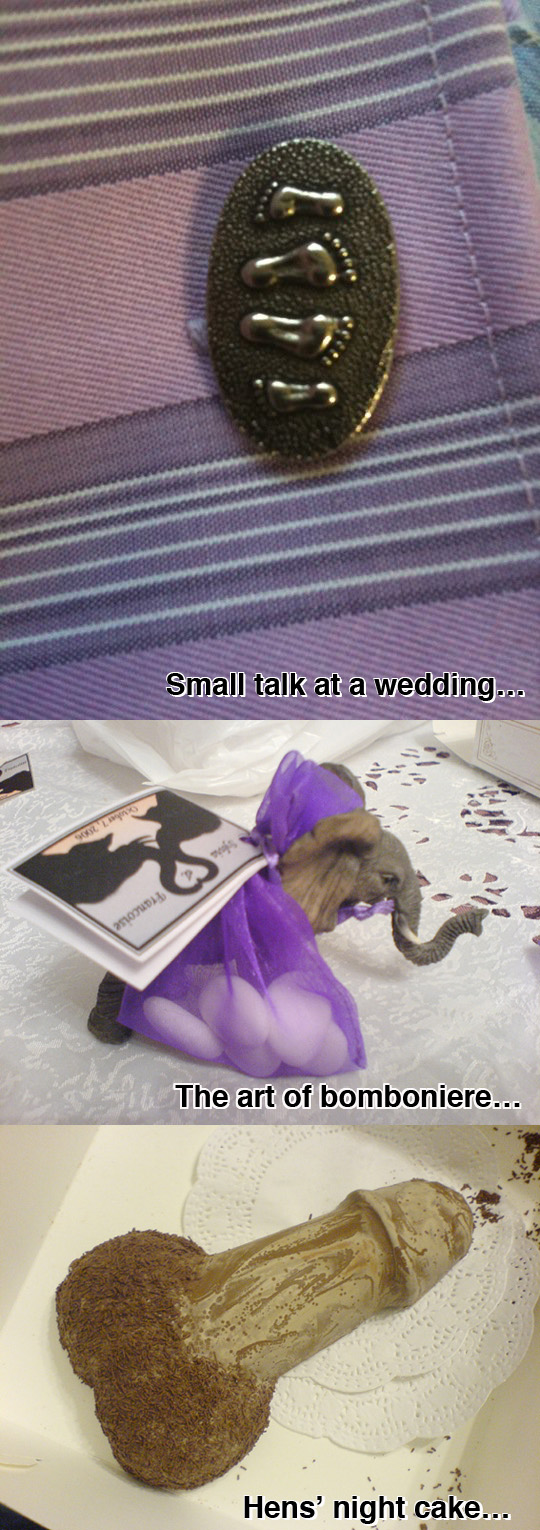 Wedding compilation photo