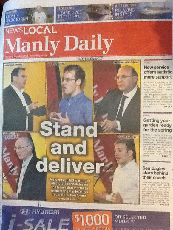 The Manly Daily