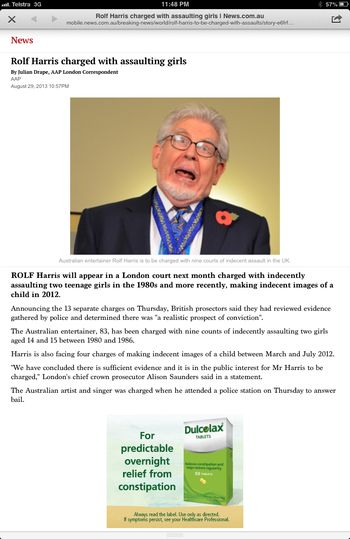 Rolf harris news story full