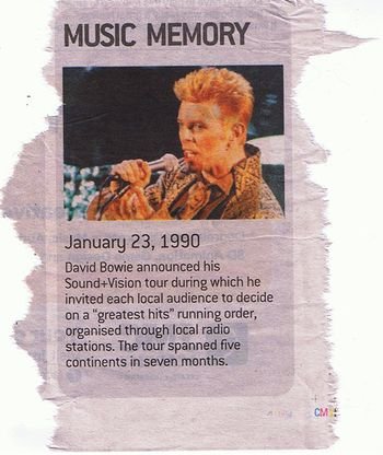 Bowie Memory MX