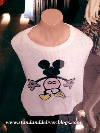 Motorboating Mickey